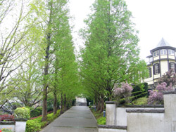 横浜山手地区外交官の家