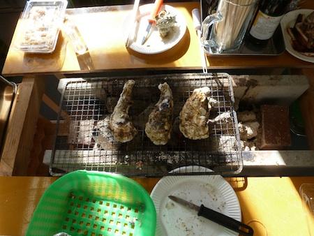 横浜八景島海の公園かき小屋